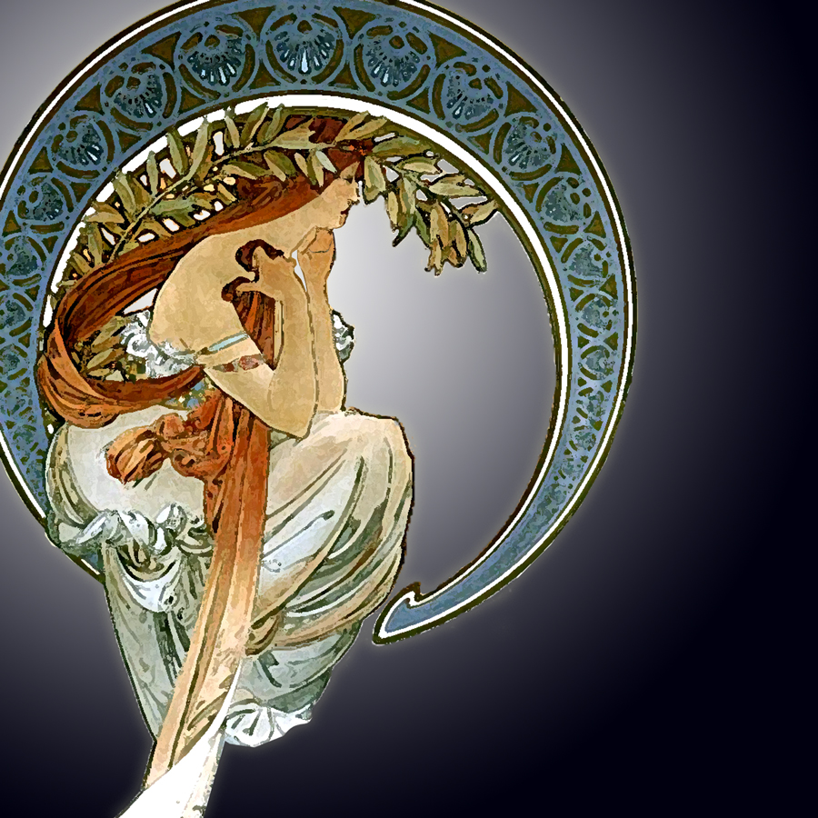Art Nouveau Tattoo Nouveau: I'll Be The Moon « Musashi Mix Inq