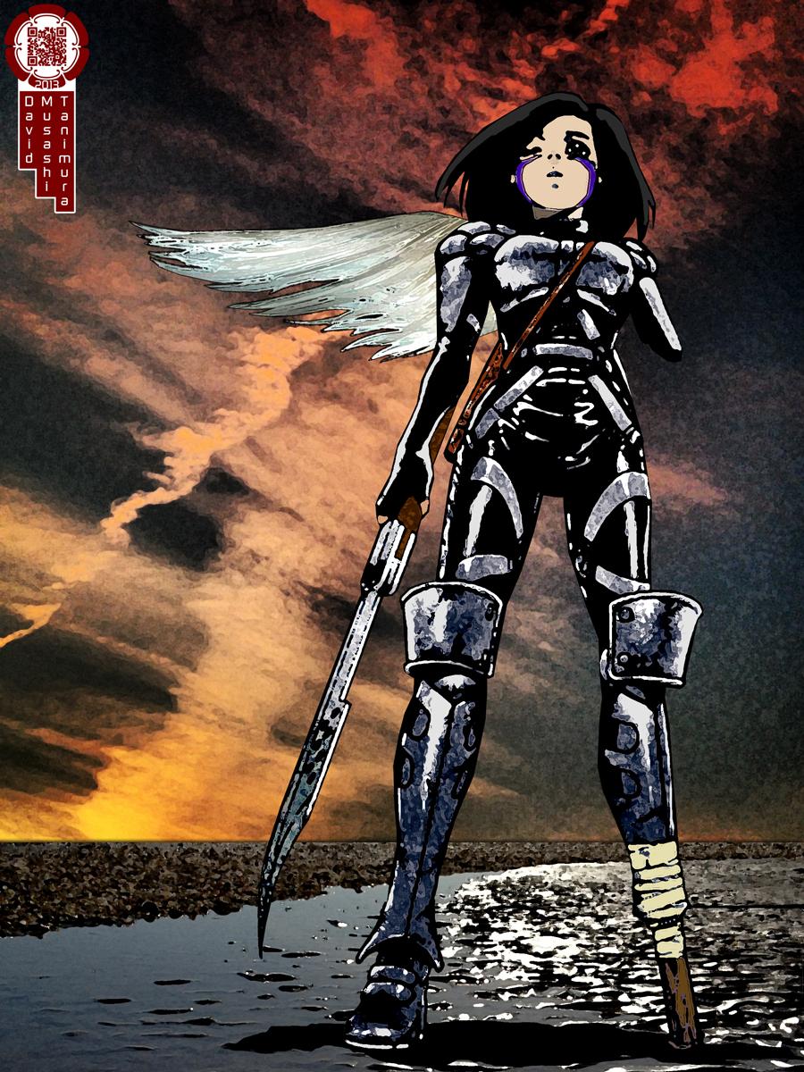 Ouroboros  Battle Angel Alita  Musashi Mix Inq