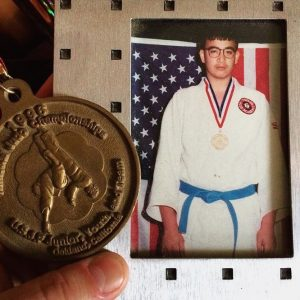 judo jr. national champion, 1996