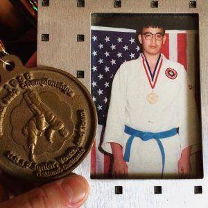 judo jr. national champion, 1996